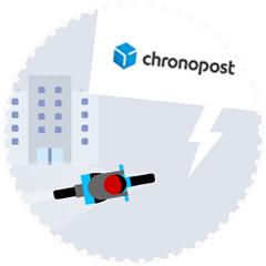 Livraison express de votre visa par Chronopost, retrait ou coursier