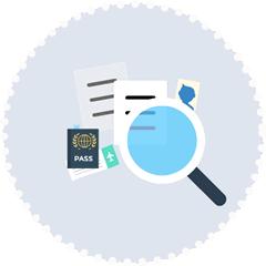 verification & validation de votre dossier de demande de visa