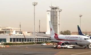 Aéroport d'Alger en Algérie