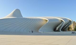 bâtiment moderne azerbaïdjan