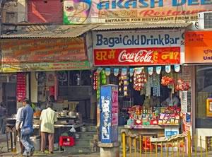 Commerces indiens