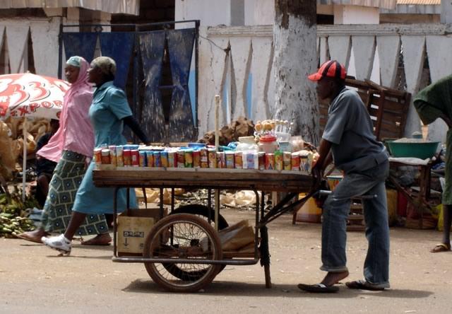 Marchand ambulant Cameroun