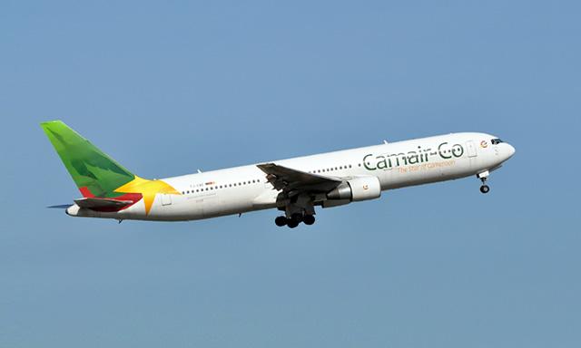 Avion compagnie aérienne Cameroun