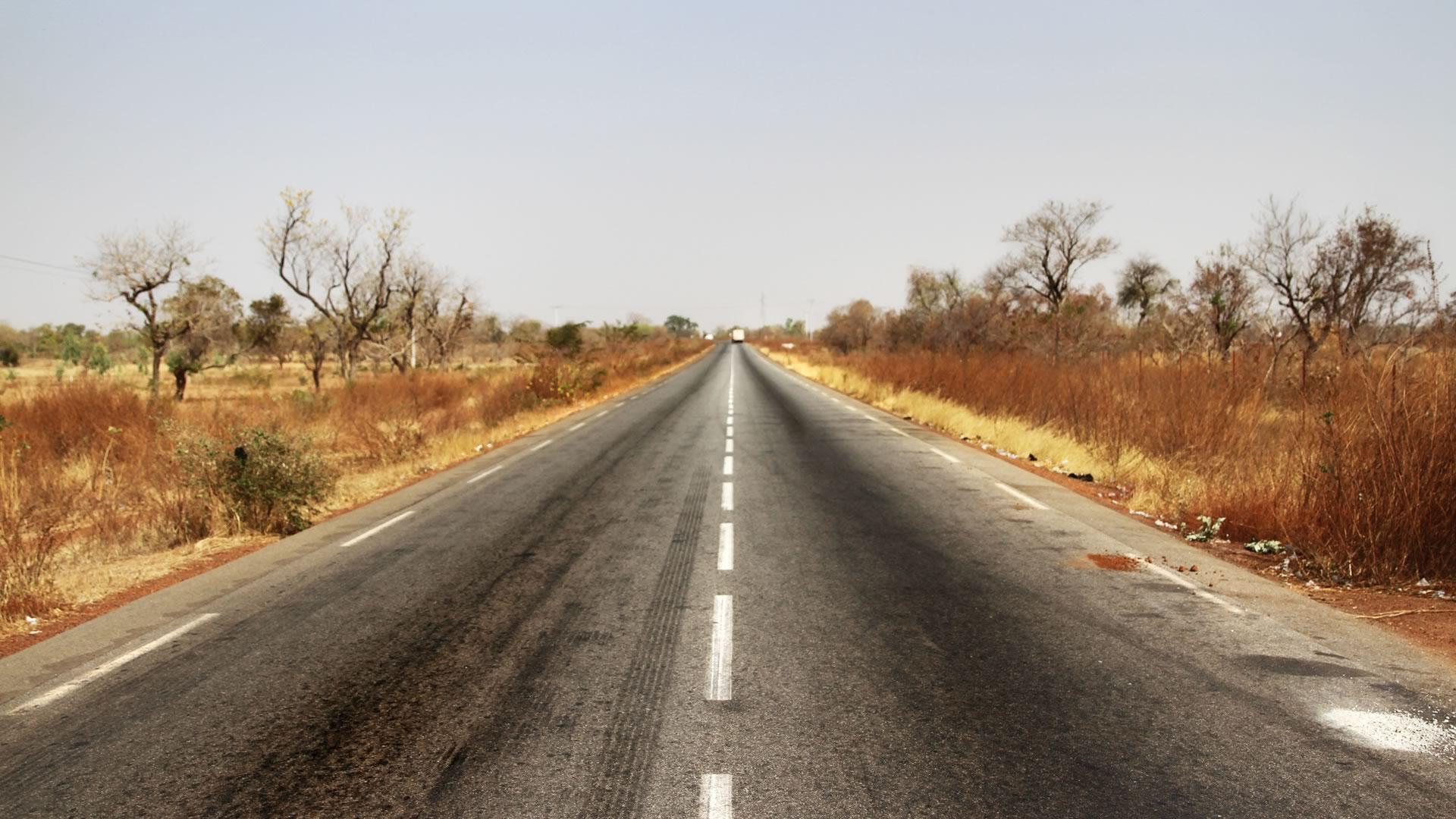 route burkina faso