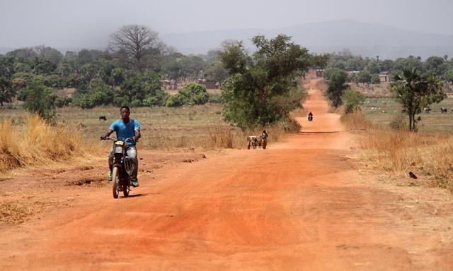 route de terre burkina faso