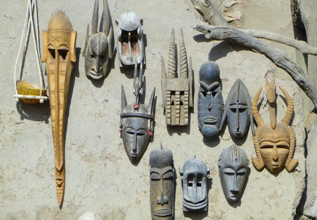 masques burkina faso